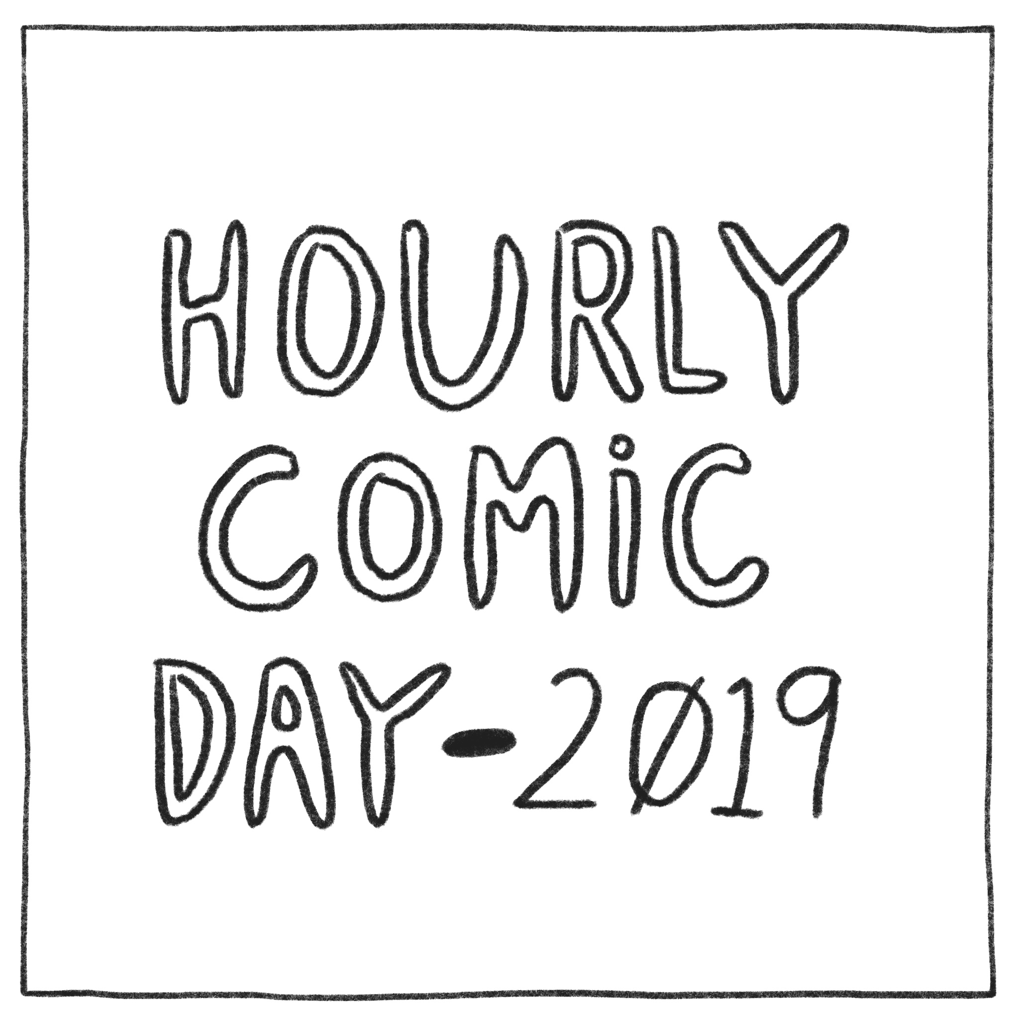 Hourly Comic Day - 2019